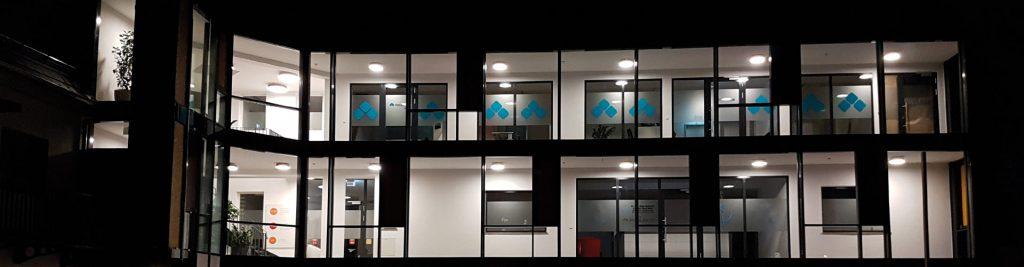 Das Personaldienstleister-Büro in Ulm von außen